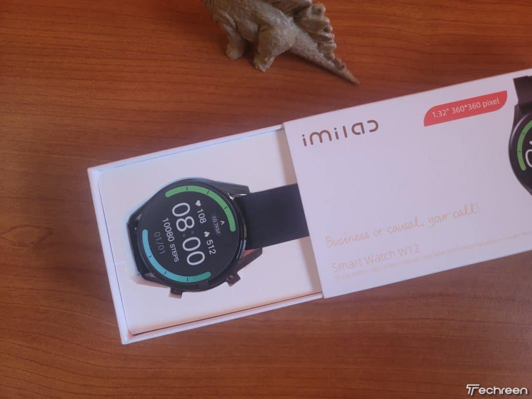 Xiaomi Imilab W12 Smartwatch 001