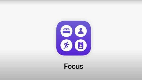 Apple Focus Notifications