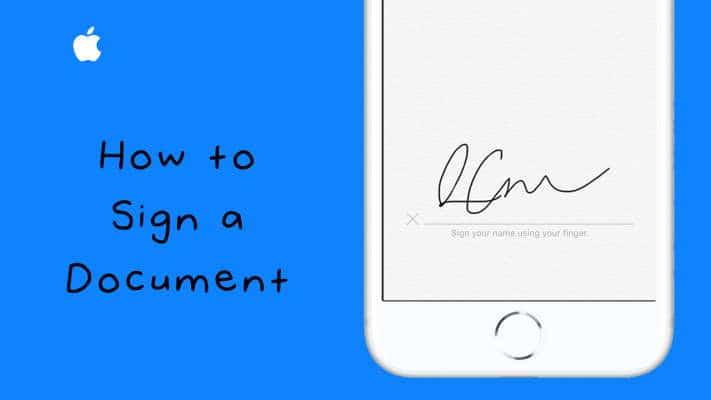 Sign A Document On Ios