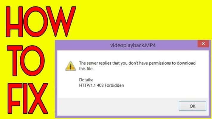 Http 403 Forbidden Error On Idm