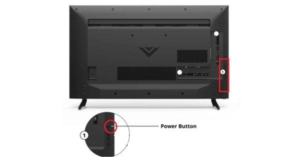 Vizio Power Button